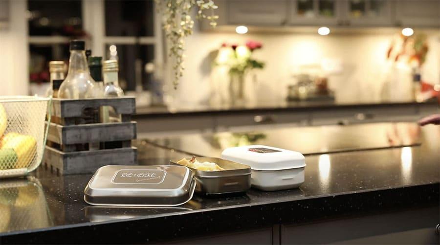Reeat klimatlådan matlådan ät smart premium not plastic miljöbild kök 2